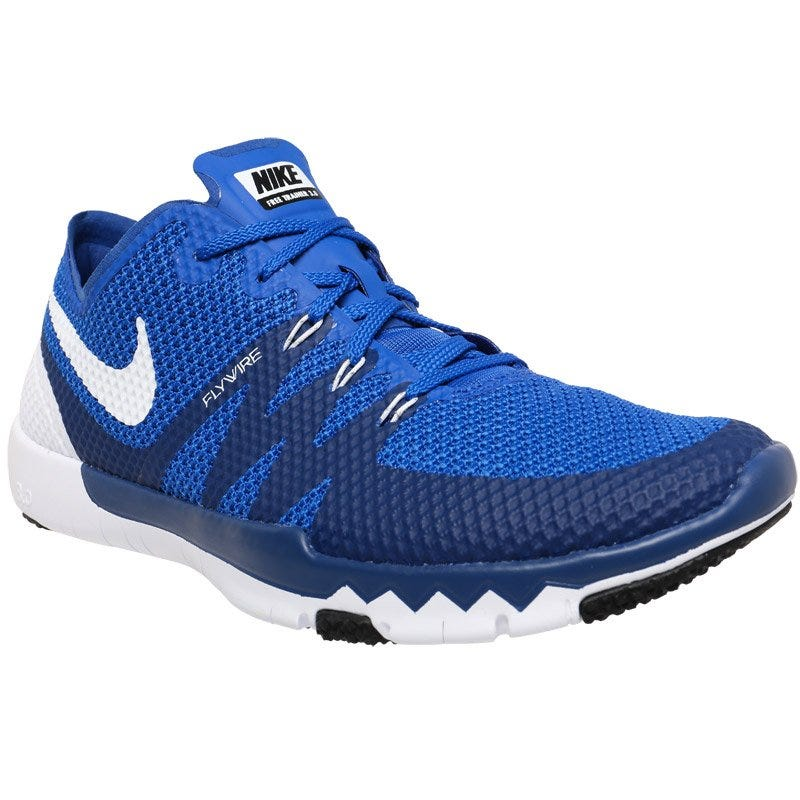 Nike Free Run 3.0 V5 Womens Running Shoes Royal Blue / Grey