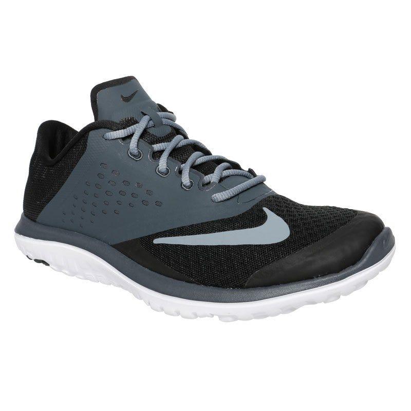Nike FS Lite Run Womens Training Shoes - BlackDark Gray