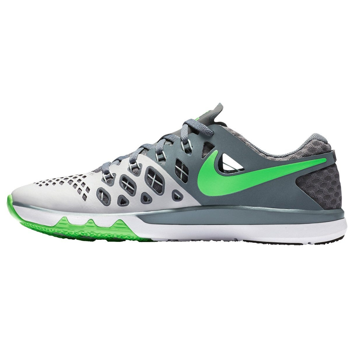 Nike Train Speed 4 Men's Training Shoes - Platinum/Gray/Green