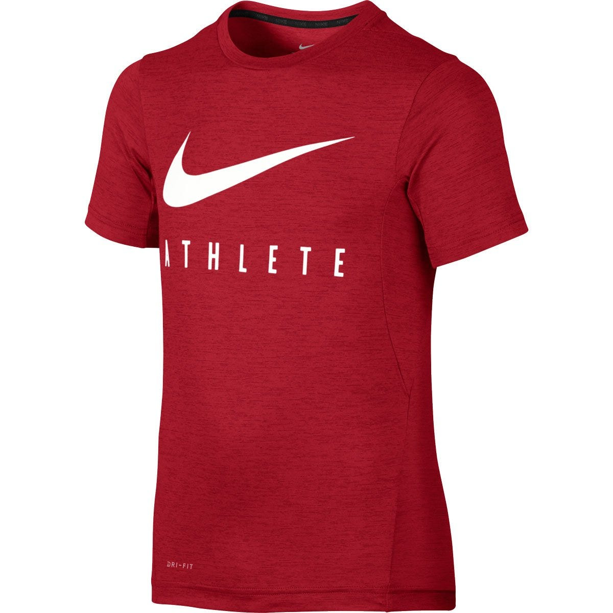 Nike Athlete Boy's Short Sleeve Training Top