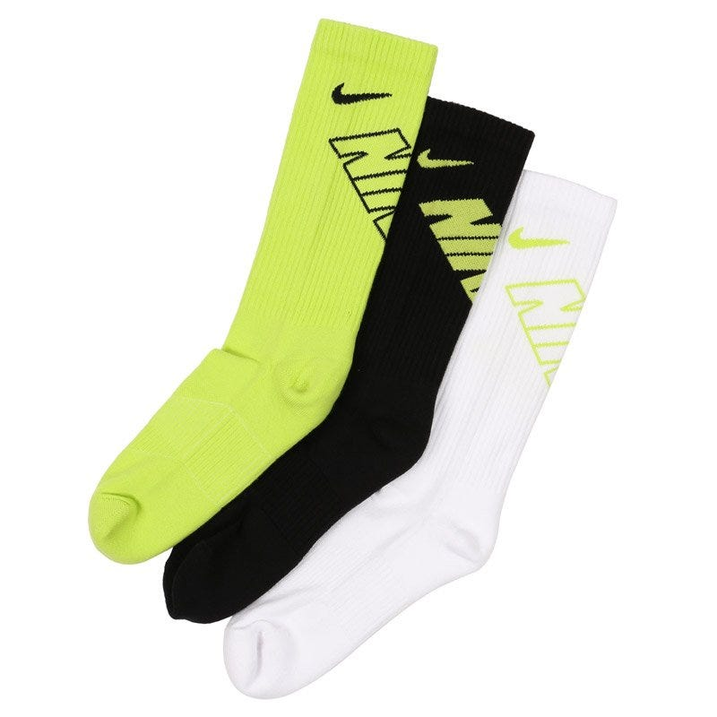 Nike Boys Graphic Crew Socks - 3 Pack