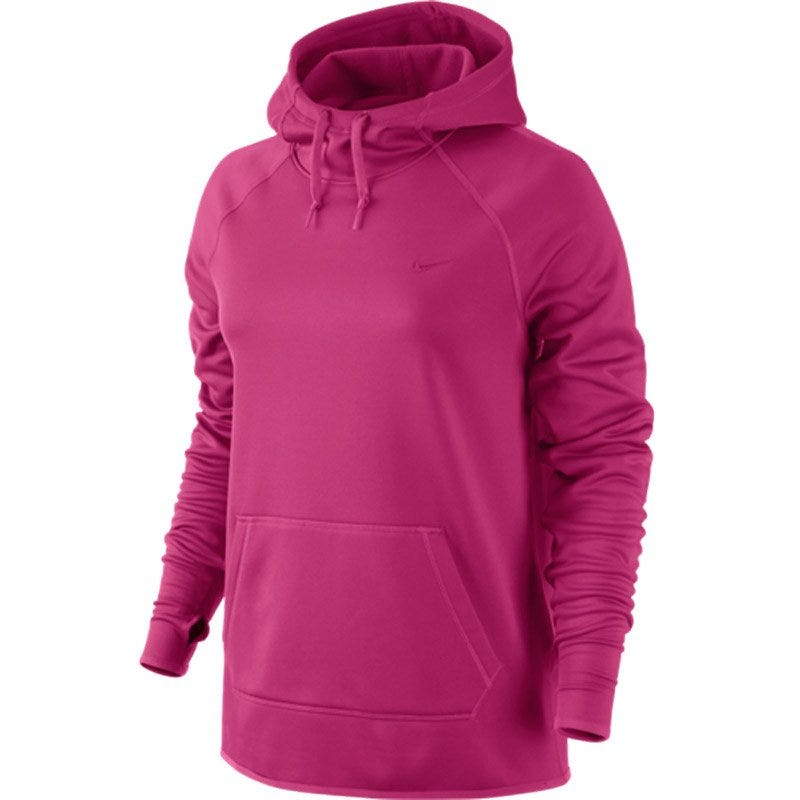 All Time Pullover Hoody by Nike; Womens Softball - X-Small Purple