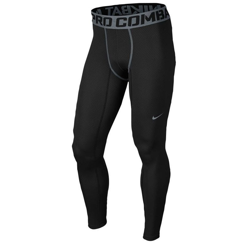 X-Large Baseball Hyperwarm Lite Sr. Training Tights - Black by Nike