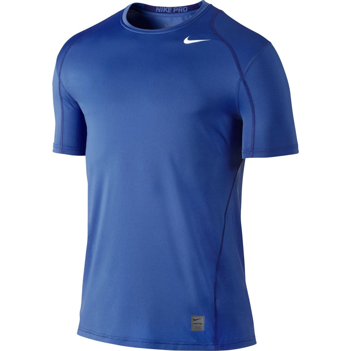 Nike Pro Cool Fitted Senior Short Sleeve Top