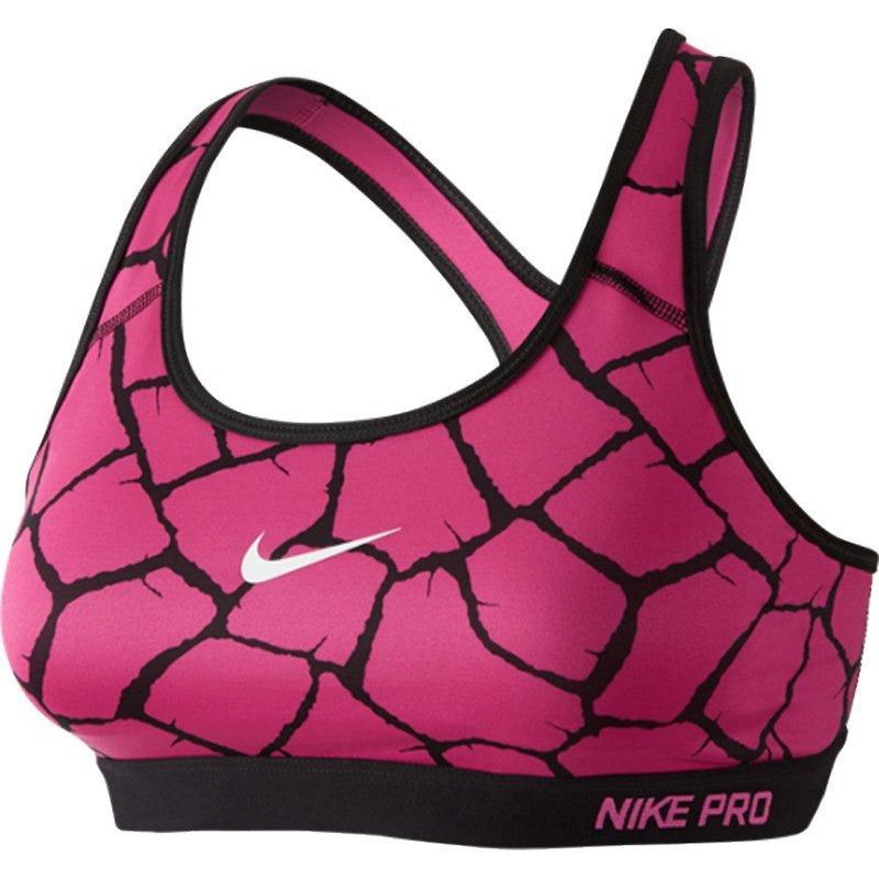 Nike Pro Classic Padded Giraffe Women's Bra