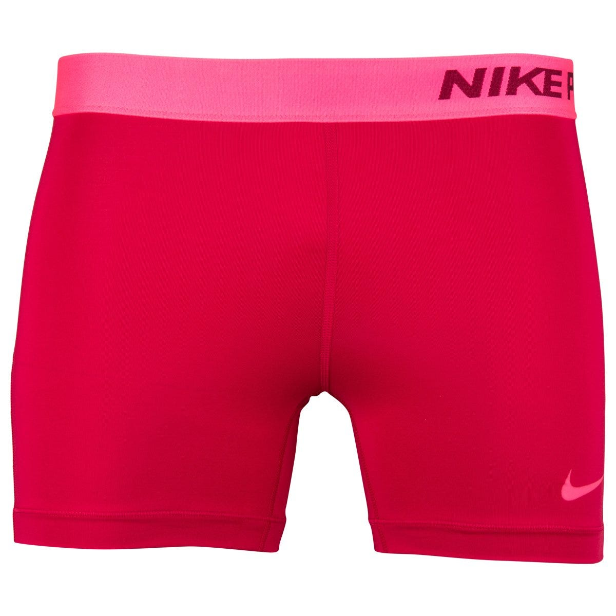 Nike Black/White Softball Pro Training Short - Womens Size X-Small