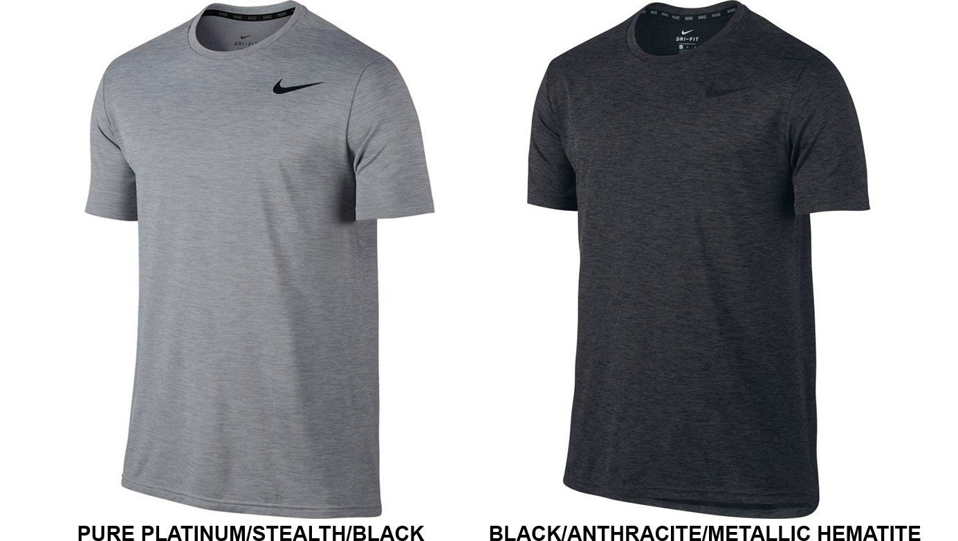 Nike Dri FIT Training T Shirt Men's Black | Rogue Fitness