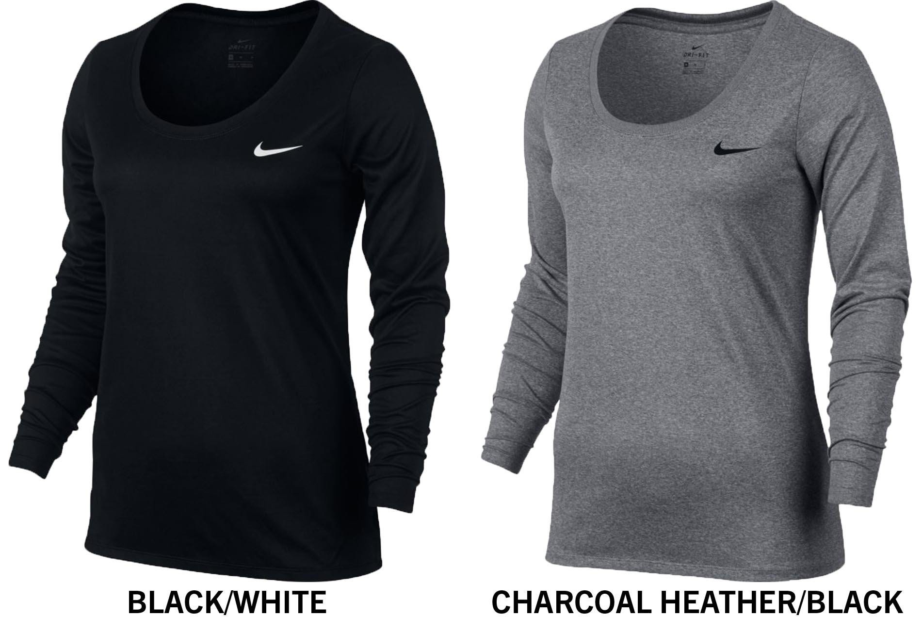 b2b55fb68c0ec Nike Dri-FIT Legend Women's Long Sleeve Training T-Shirt