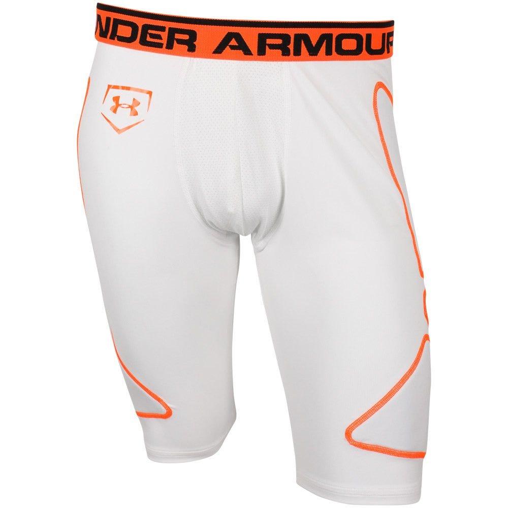 X-Large Baseball Break Thru Slider Shorts - Grey by Under Armour