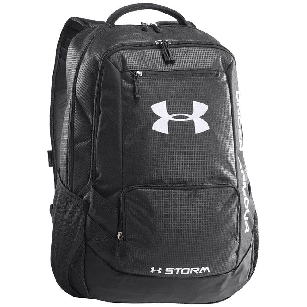 Under Armour Baseball Backpack Storm in Red/Black w/ Water Resistance