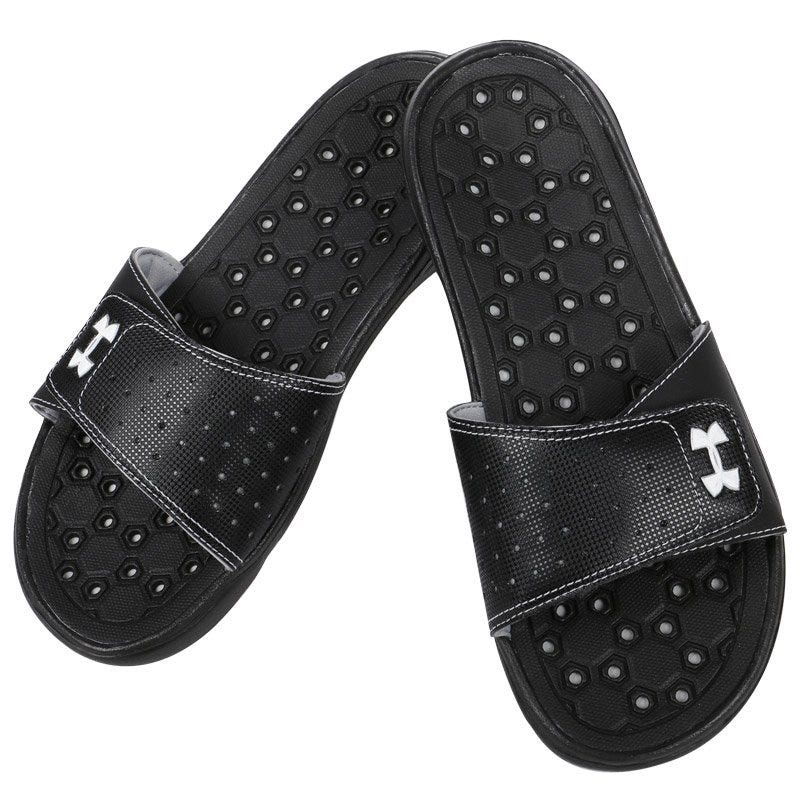 Under Armour Playmaker VI Womens Slide - BlackSilver
