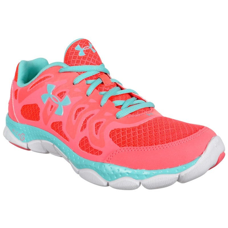 Under Armour Micro G Mantis Women's Running Shoe - Blue/Pink/White