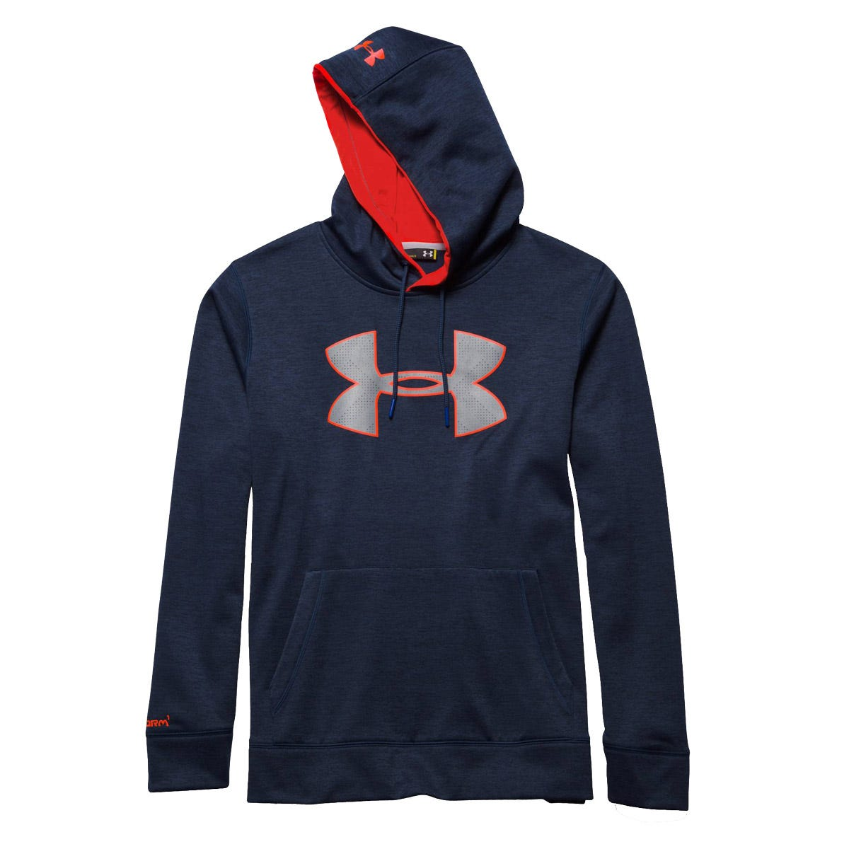 XL Baseball Big Logo Armour Hoody Under Armour; Unisex Black/Gray/Blue