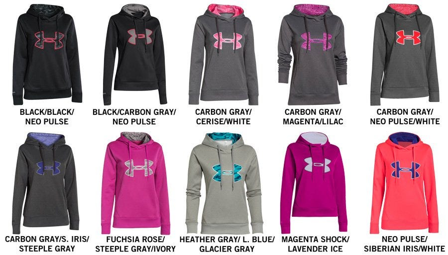 Under Armour Applique Women s Pullover Hoody 1a8a6b071