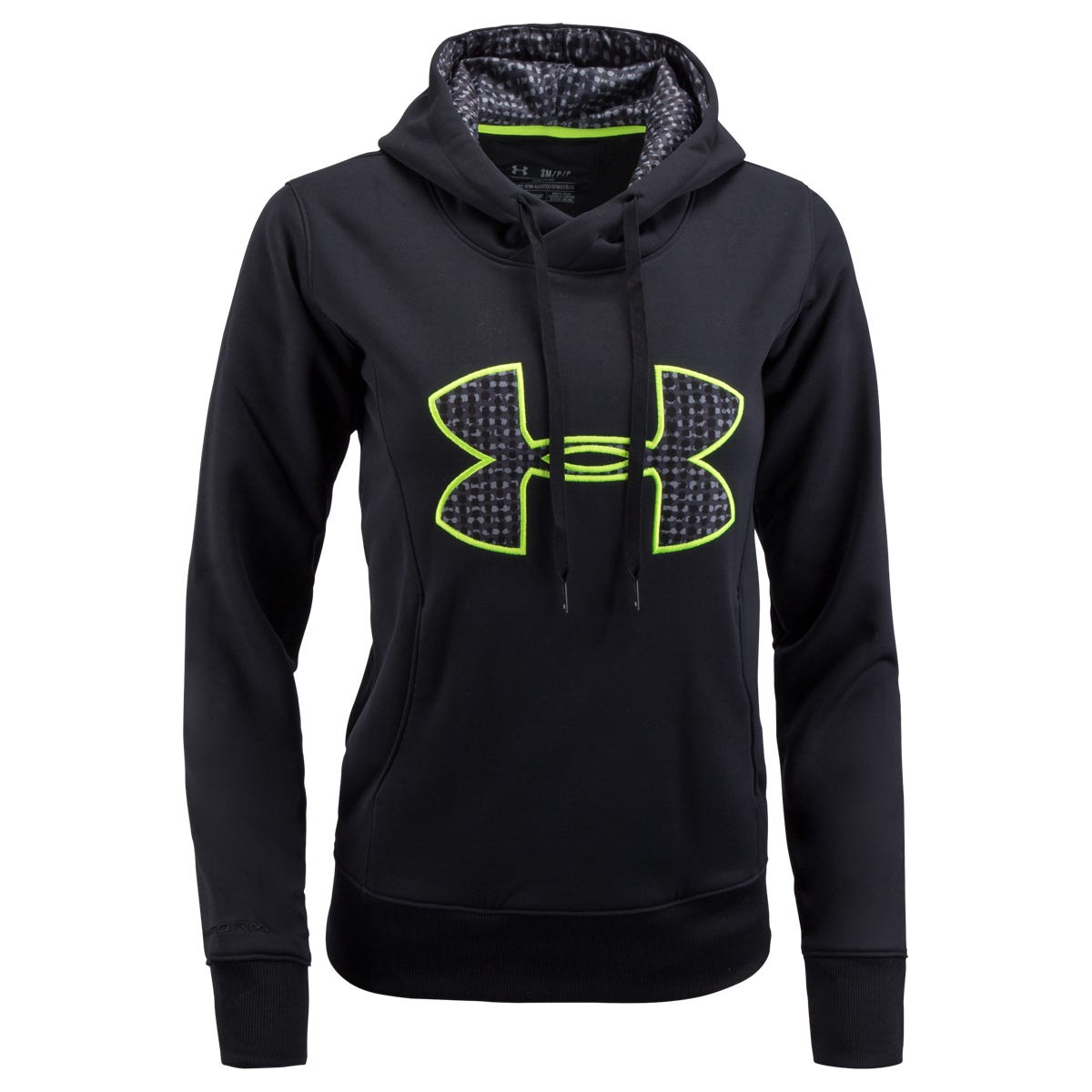 Under Armour Big Logo Storm Womens Fleece Hoody