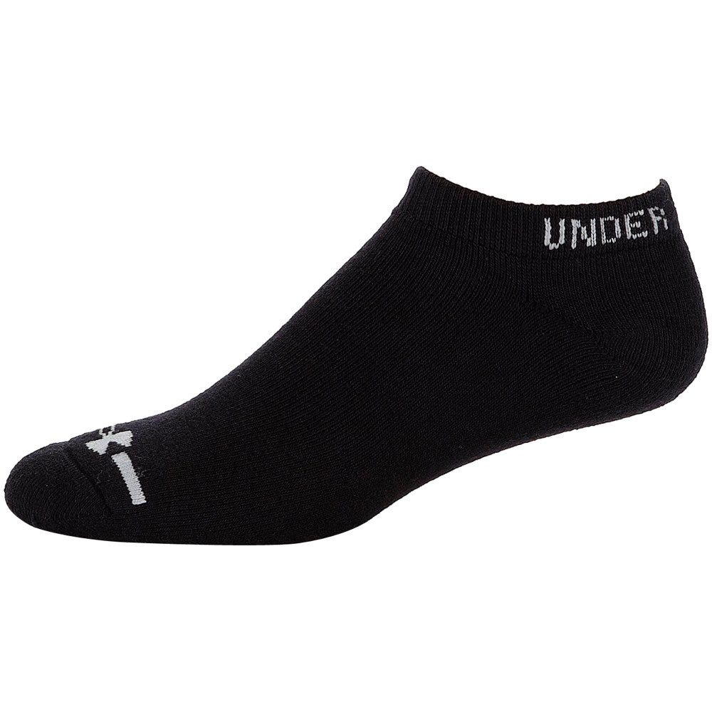 Under Armour Charged Cotton No Show Socks - 6 Pairs