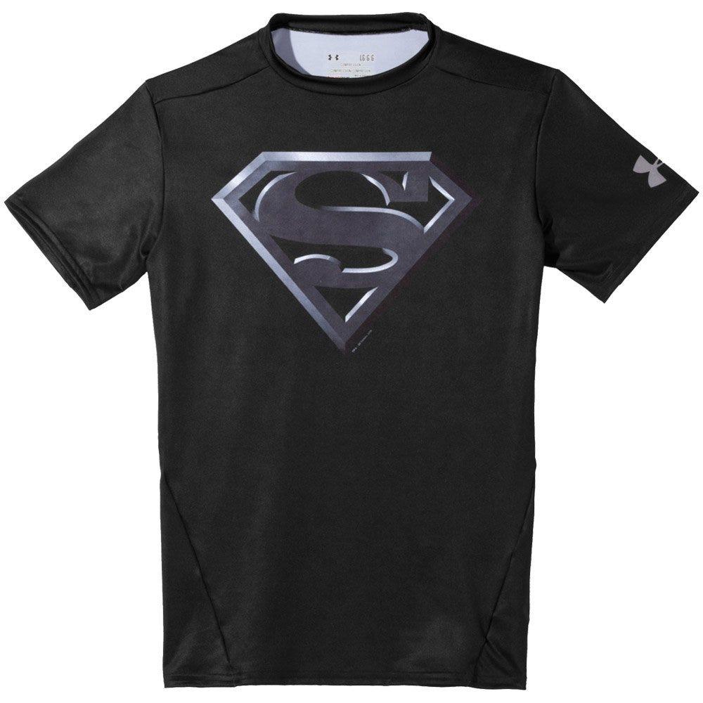 Under Armour Alter Ego Superman Black Adult Compression Shirt