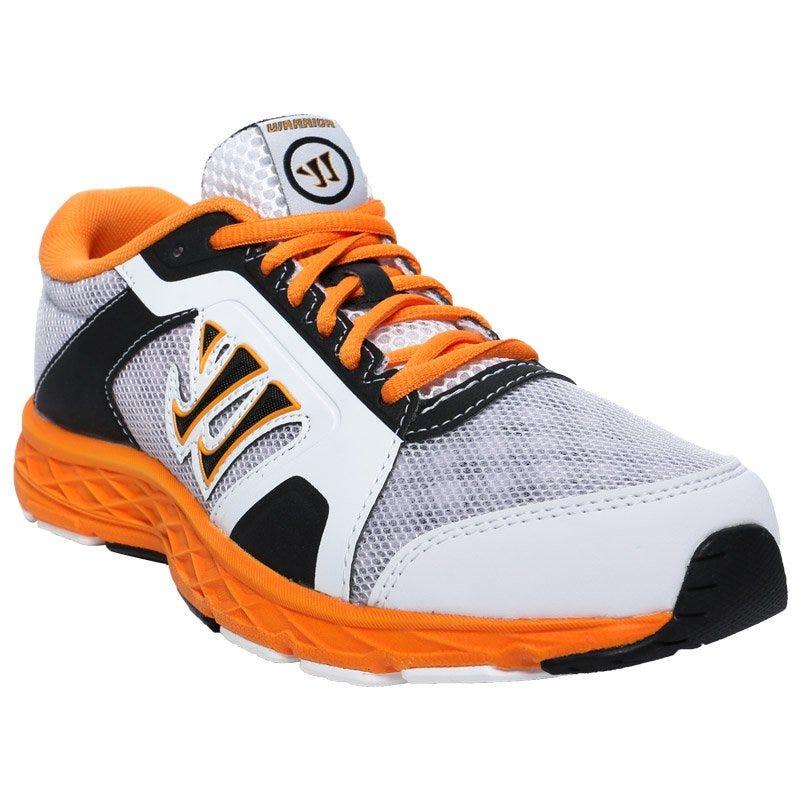 Warrior Dojo 2.0 Yth. Training Shoes - White/Orange