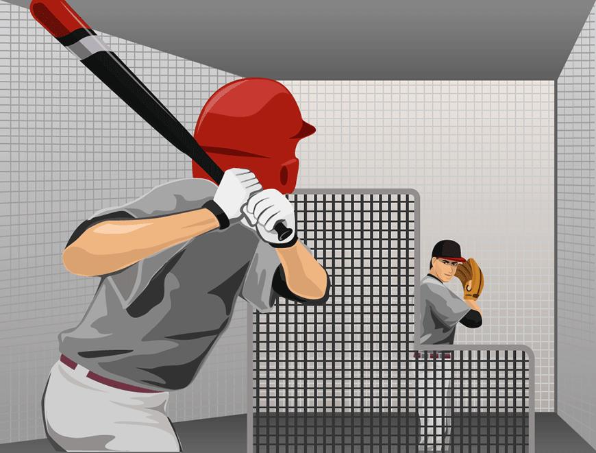 Breaking in a bat - soft toss
