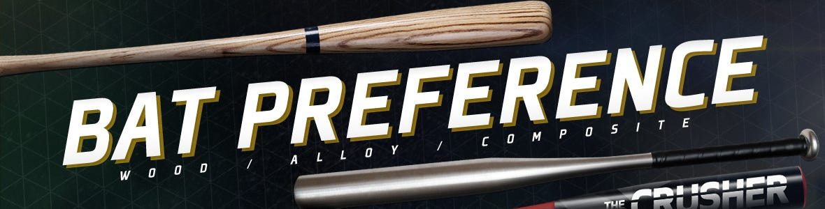 choosing a bat - alloy vs composite vs wood