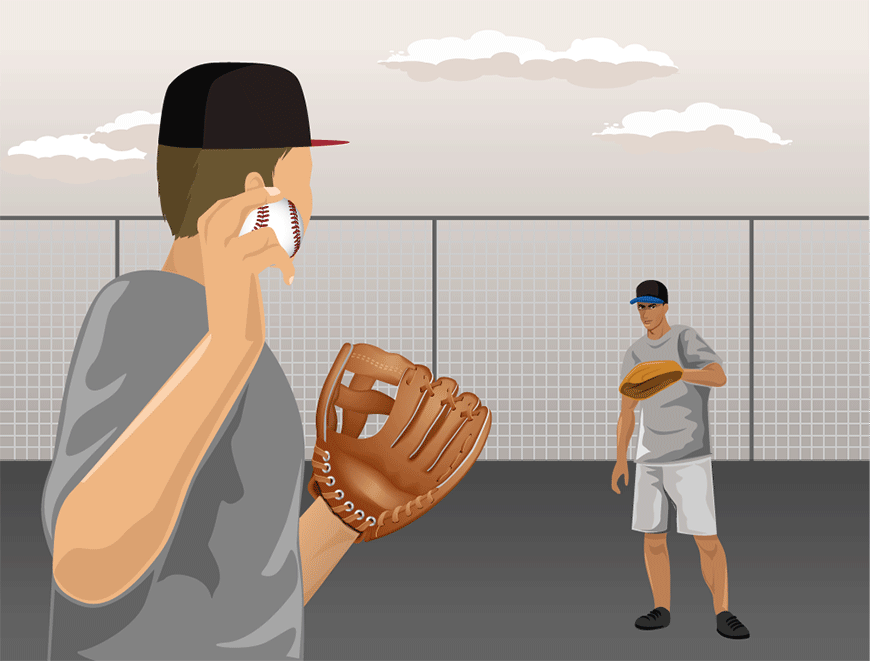 How to break in a glove - Traditional Method