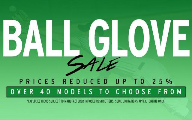 Ball Glove Sale