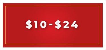 $10 to $24