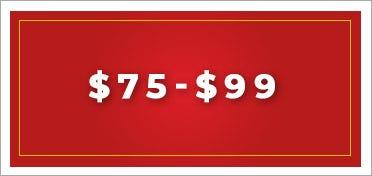 $75 to $99