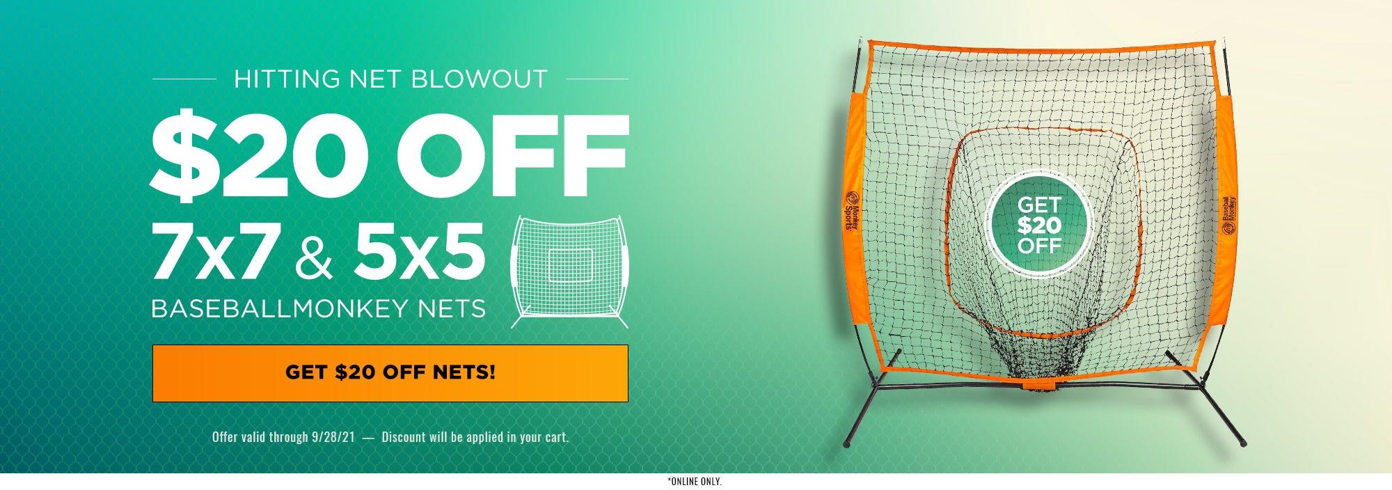 Hitting Nets Sale
