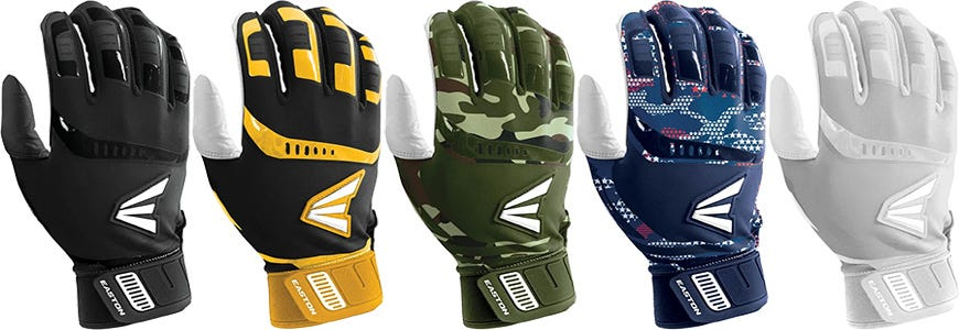 Easton Walk-Off Adult Batting Gloves - 2019 Model