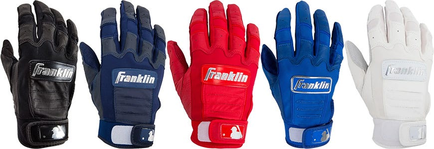 Franklin CFX Chrome Youth Batting Gloves