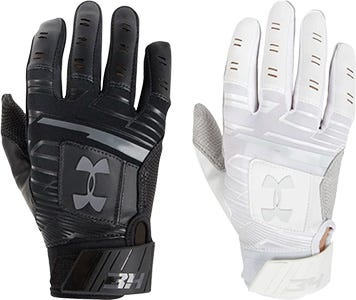 Under Armour Harper Hustle Boy's Baseball Batting Gloves
