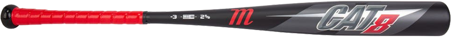Marucci CAT8 (-3) BBCOR Baseball Bat - Black - 2019 Model