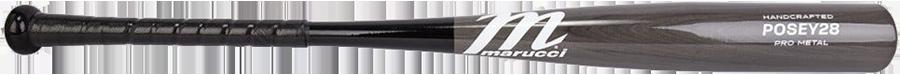 Marucci POSEY28 Pro Metal (-3) BBCOR Baseball Bat - 2019 Model