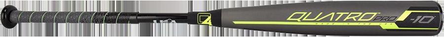 Rawlings Quatro Pro (-10) USA Baseball Bat - 2020 Model