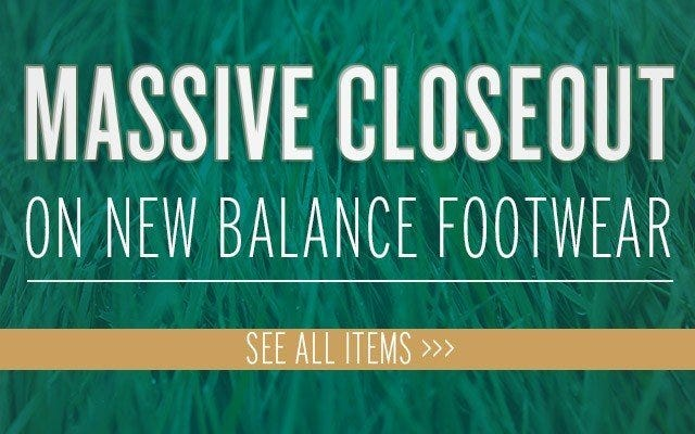 New Balance Cleat Markdowns