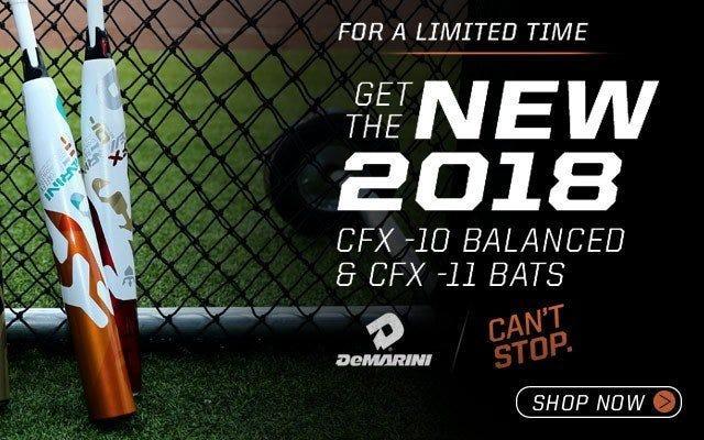 DeMarini CFX 2018 Fastpitch Bats