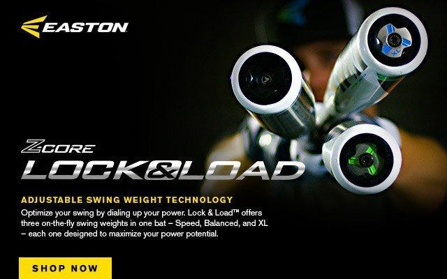 Easton Z-Core Lock & Load