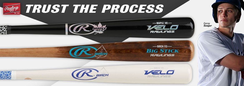 Rawlings Wood Bats - Trust the Process
