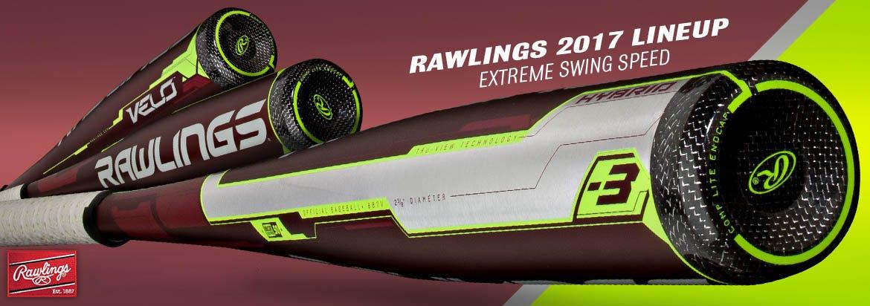 Rawlings 2017 Velo Baseball Bats