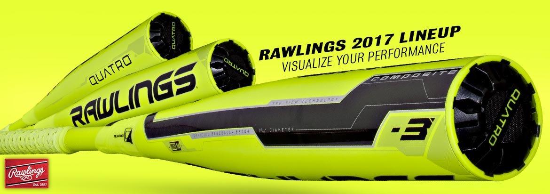 Rawlings Quatro Baseball Bats