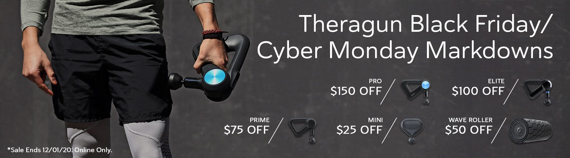 Theragun Black Friday Price Reductions