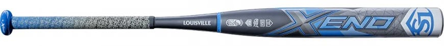 Louisville Slugger Xeno X19 (-10) Fastpitch Softball Bat - 2019 Model