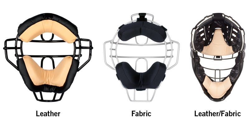 different-types-of-padding-for-umpire-masks